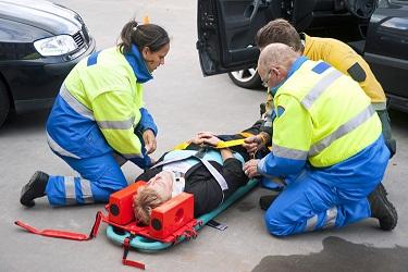 Оказание первой помощи при переломах