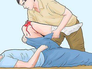 Доврачебная помощь при открытом переломе