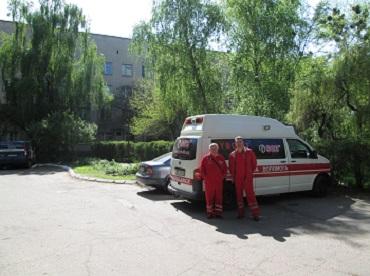 Перевезти больного из Днепра в Полтавскую область