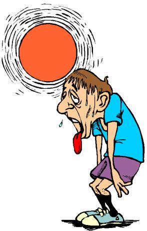 Доврачебная помощь при тепловом (солнечном) ударе