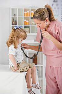 Вызов педиатра к ребёнку
