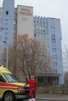 Заказать медицинскую транспортировку в Беларусь